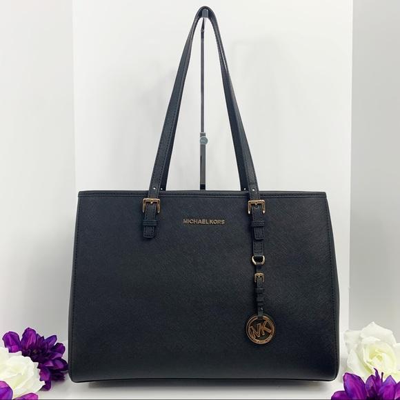 Michael Kors Handbags - Michael Kors Jet Set Travel LG Ew Tote Leather